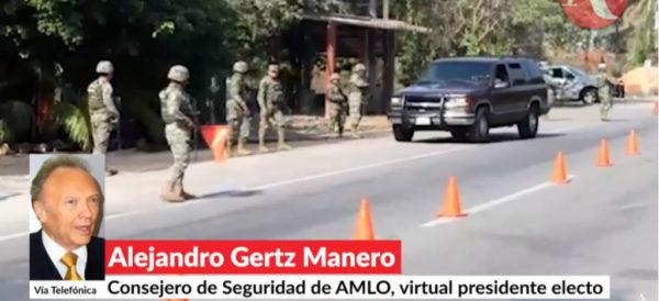 Si el gobierno de Peña Nieto conoce bien a los cárteles ¿por qué no los combaten?: Gertz Manero