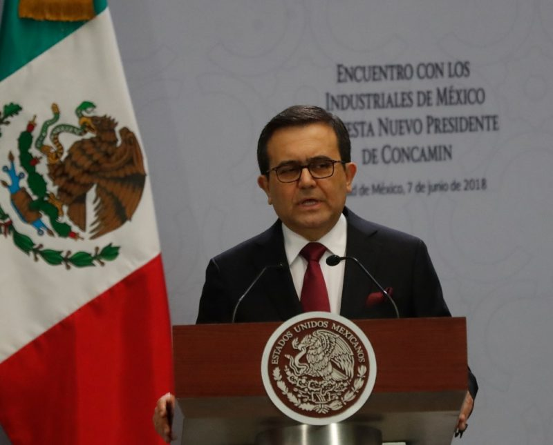 """""""Últimas horas"""" para acuerdo México-EU en TLCAN: Guajardo"""