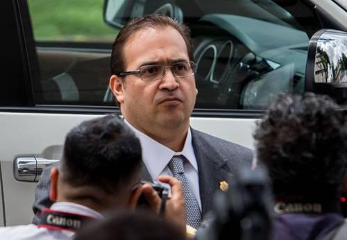 PGR sin pruebas de delincuencia organizada contra Javier Duarte