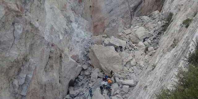 Derrumbe de mina en Hidalgo; tres mueren y dos quedan atrapados