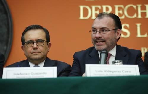 Videgaray: destrabó  el equipo de AMLO  diferendo con EU