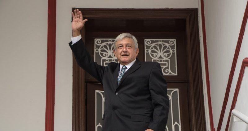 Andrés Manuel López Obrador ya es Presidente electo, el primero de izquierda en la historia del país
