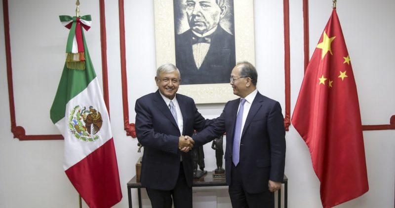 Equipo de AMLO atenderá una invitación para ir a China en noviembre. Ese país quiere hacer más negocios con México y participar en proyectos de infraestructura