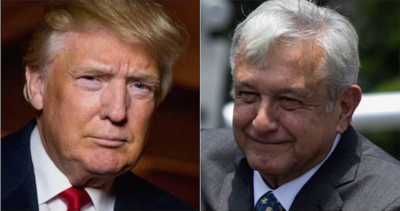 """El presidente electo de México ha resultado un """"absoluto caballero""""; Canadá… que espere: Trump"""