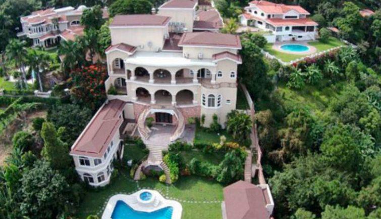 Incautan casa de 8 millones de dólares. a expresidente derechista de El Salvador, Antonio Saca