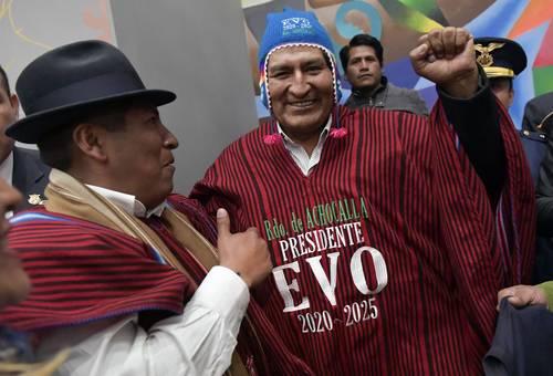 Evo Morales: esperamos que López Obrador mire hacia el sur