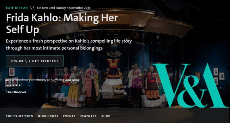 Muestra de Frida Kahlo en Londres rompe récord en preventa y primer día de exhibición