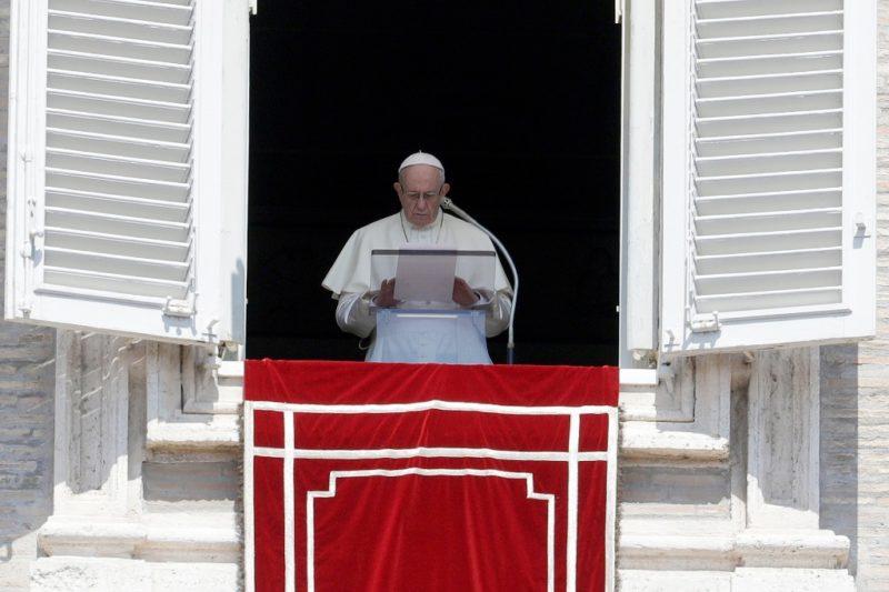 """Papa condena """"con fuerza las atrocidades"""" de pedofilia en EU"""