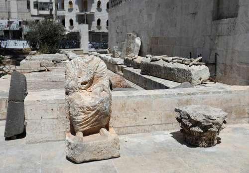 Nuevos testimonios del saqueo de terroristas de los sitios arqueológicos de Siria