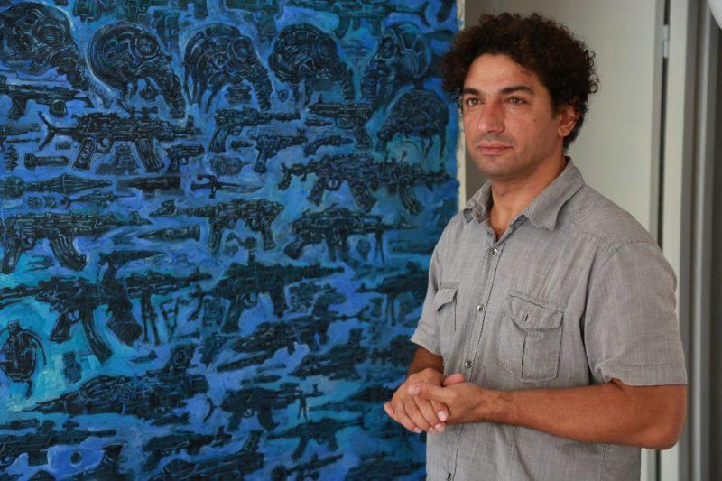 Cámaras de tortura sirias vistas por artista que las padeció