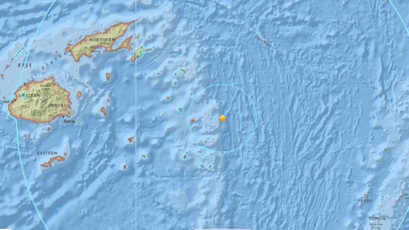 Sismo de magnitud 8,2 cerca de las islas Fiyi y otro de 6.3 en Indonesia