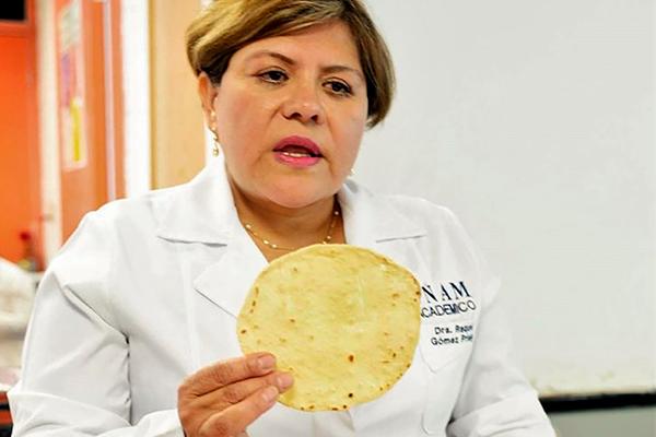 Logra científica mexicana tortillas de harina que no engordan contra desnutrición, obesidad y diabetes