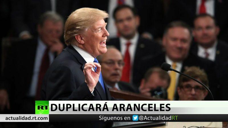 Video: Trump duplica aranceles al acero y el aluminio de Turquía