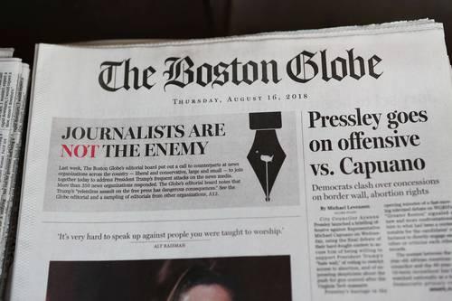 Periódicos que publicanfake newsson nocivos para el país, replica Trump