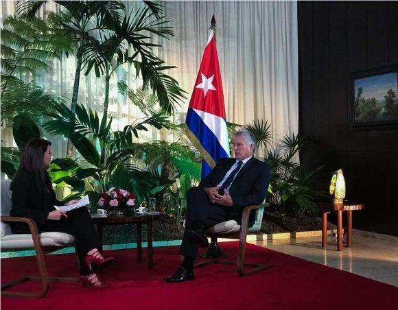 """AMLO, """"esperanza"""" para América Latina, dice el presidente de Cuba, Miguel Díaz-Canel"""