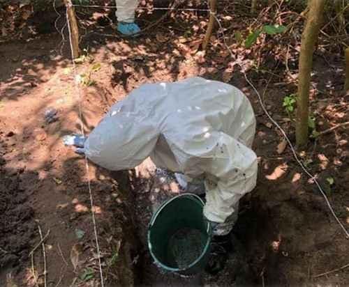 En 18 meses han exhumado 696 cuerpos de 164 fosas clandestinas: CNDH