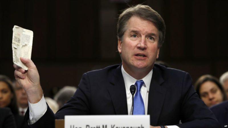 Mujer acusa de acoso sexual a nominado por Trump a la Corte Suprema