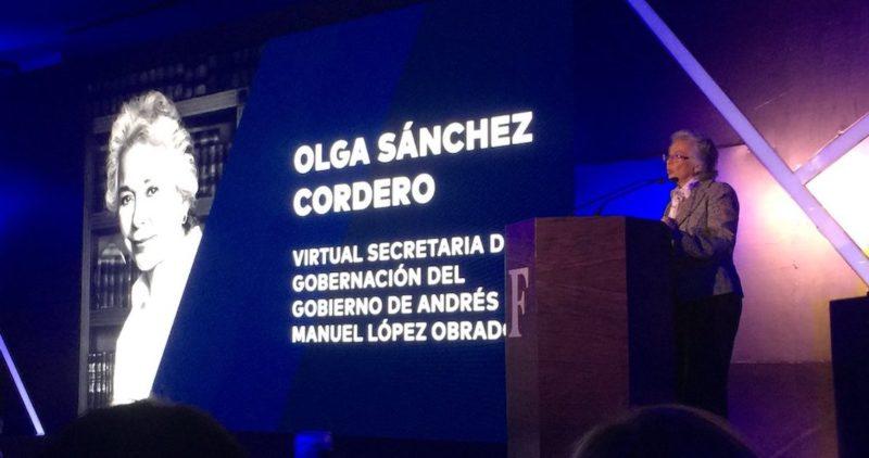 """La amnistía es para campesinos, jóvenes atrapados con mariguana, indígenas """"mulas"""": Sánchez Cordero"""