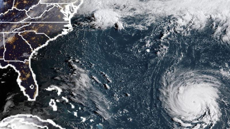 Video: El huracán Florence amenaza con hacer desaparecer una isla de EU. Emergencia en Carolina del Norte y del Sur, Marylandy Virginia