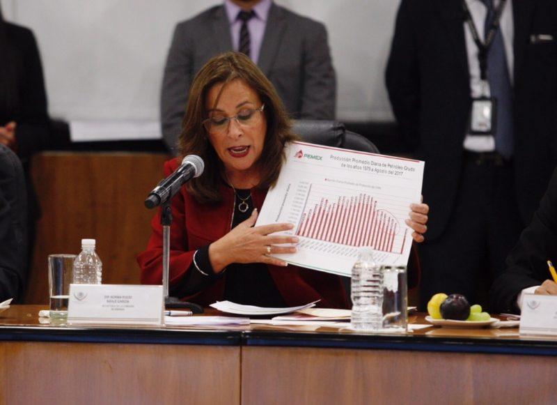 Convertiremos a Pemex enun gran negocio, asegura la próxima secretaria de Energía, Rocío Nahle