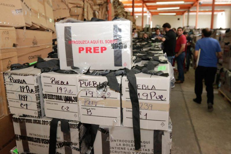 Video acredita que funcionarios del IEE de Puebla violaron lan seguridad de paquetes electorales