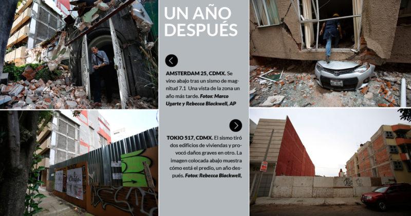 Fue hace un año. Sonó la alarma y no se podía creer: otra vez 19 de septiembre, otra vez un sismo…Este día volvió a temblar, en Guerrero