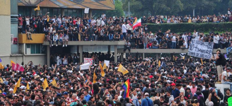 Se disculpa UNAM con estudiante al que confundió como agresor