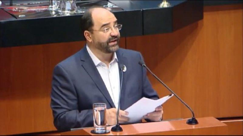 Presentan en el Senado iniciativa para abrogar la Ley de Seguridad Interior