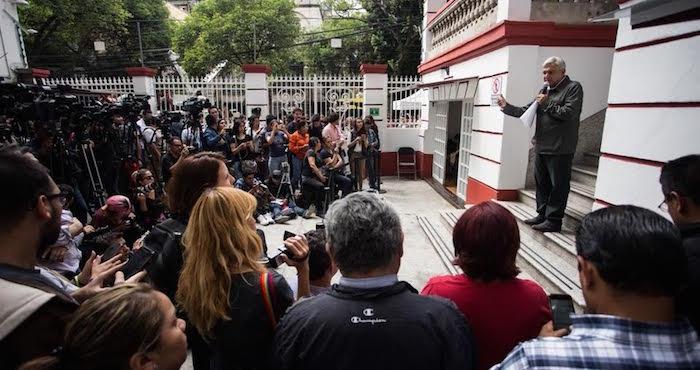 La prensa Anti-AMLO
