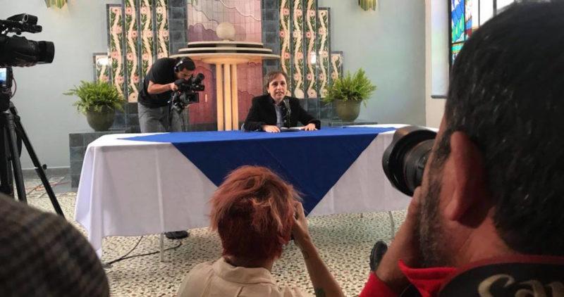 """Carmen Aristegui inicia nueva etapa en Radio Centro, tras el """"golpe de censura"""" de Peña Nieto"""
