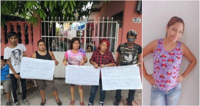 Una embarazada es asesinada en Veracruz. No hallan al bebé. La mataron para robárselo: familia