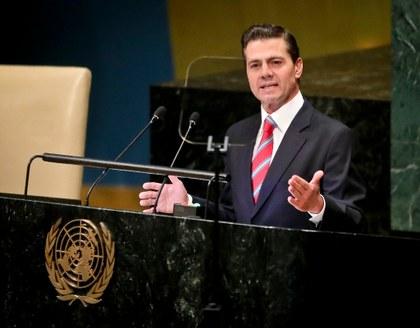 Peña Nieto exhorta a enfrentar y canalizar el fenómeno global de la migración
