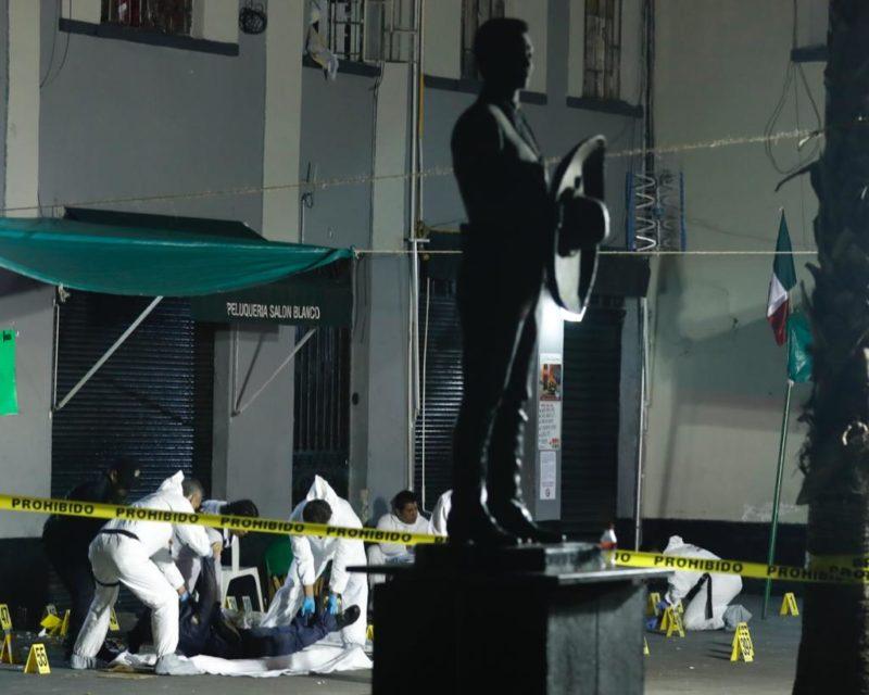 Videos: Balacera en Garibaldi; 4 muertos y al menos 7 heridos