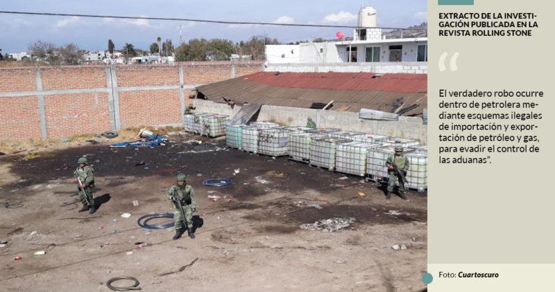 Todos los caminos del saqueo a Pemex llevan a funcionarios: la Rolling Stone publica más datos