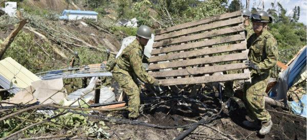Ya son 35 los muertos por el sismo de 7 grados en Japón, en la prefectura de Hokkaido