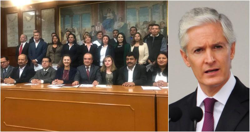 Morena aplica su mayoría en el Congreso de Edomex para poner freno al gasto de Del Mazo