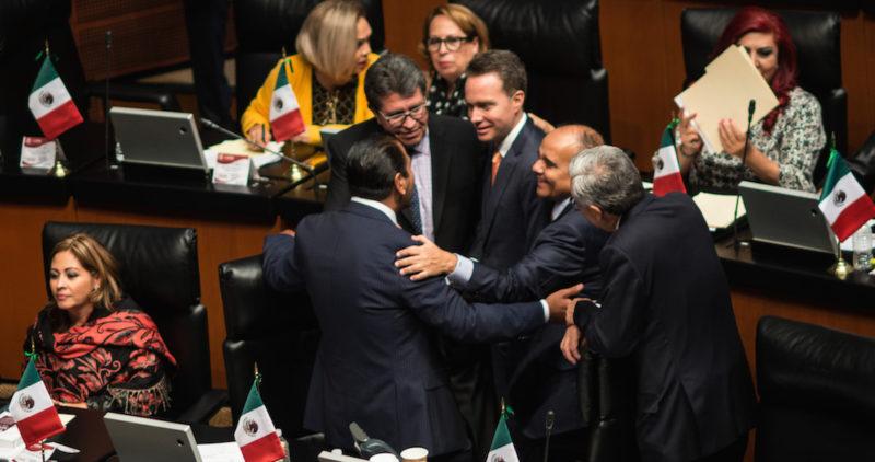 Morena salva a Velasco en el Senado, el Verde da mayoría absoluta a Morena en Diputados