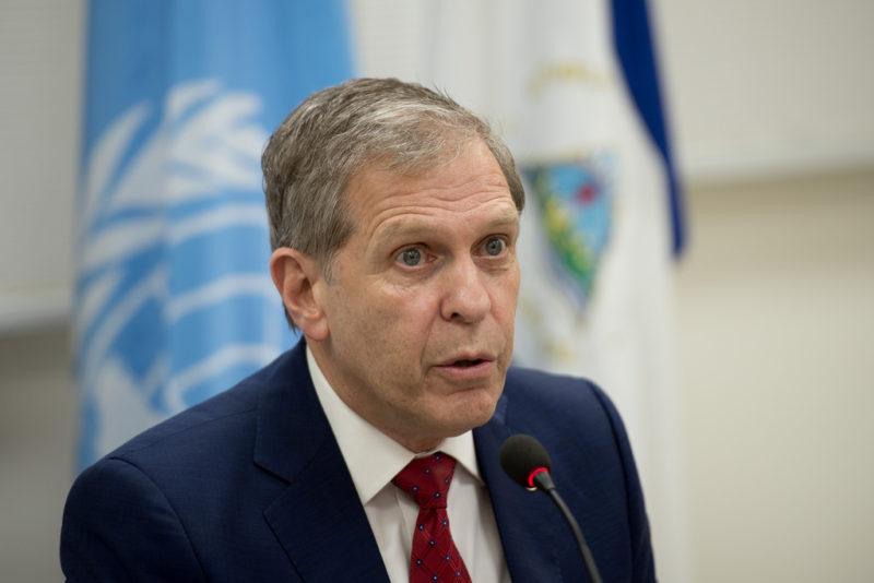 Desamparadas, las víctimas de la represión en Nicaragua: Guillermo Fernández Maldonado, jefe de la misión de DH de la ONU