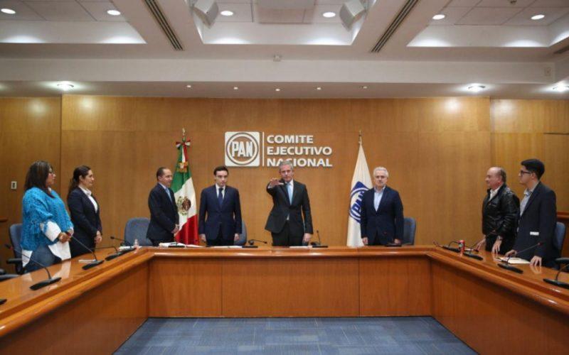 Torres Cofiño rinde protesta como presidente nacional del PAN
