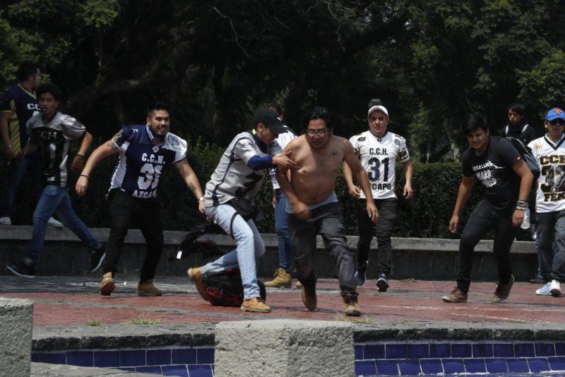 Panorama Informativo: AMLO y la violencia en la UNAM. Mancera y la seguridad capitalina. Velasco se queda con las ganas. Protesta en Chapingo. TLCAN sin Canadá