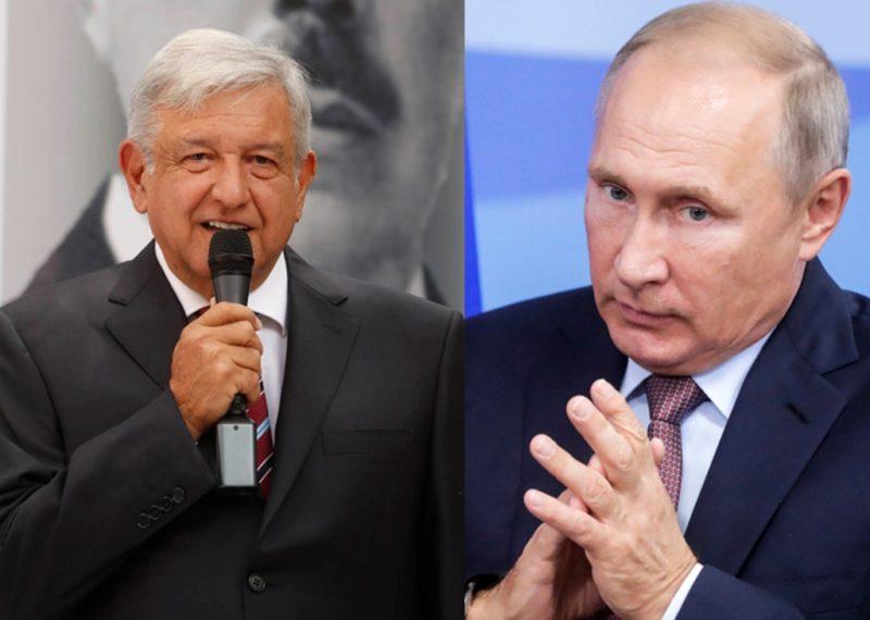 Se vislumbra reunión de AMLO con el presidente ruso Putin