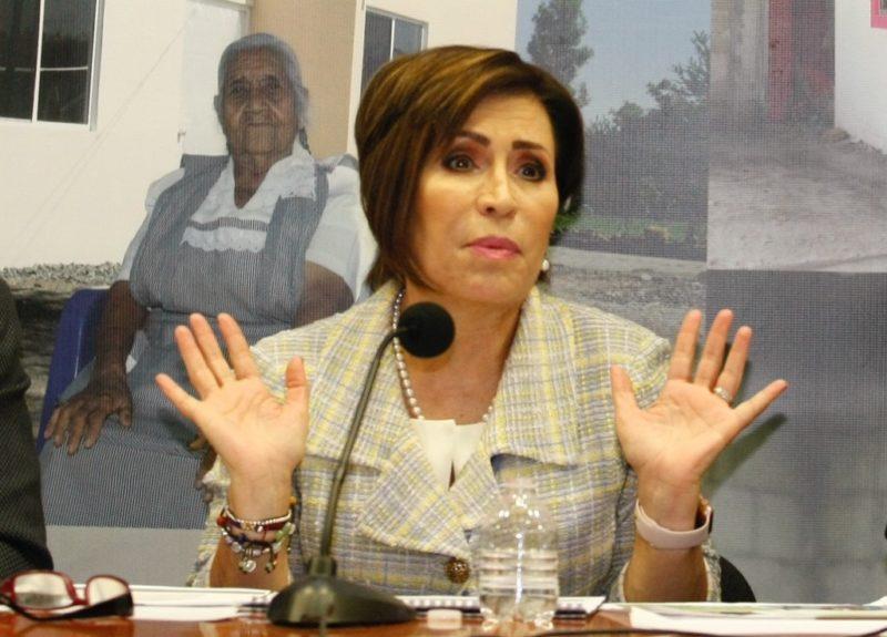"""Me acusan porque mi """"nombre vende"""": Rosario Robles"""