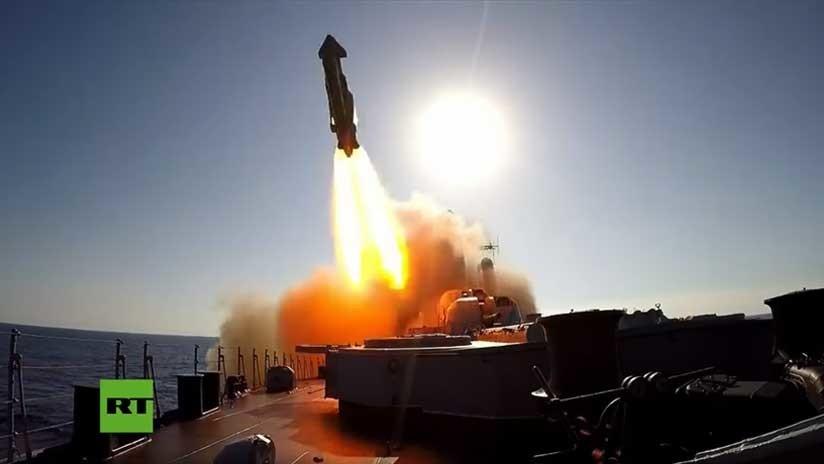 Ejercicios conjuntos a gran escala de la Marina y la Fuerza Aérea rusa en el mar Mediterráneo