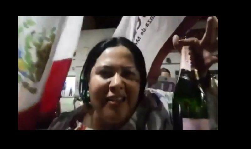 """Suspende Morena derechos a senadora """"LadyChampagne"""""""