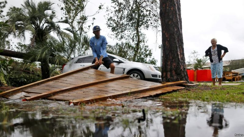 Michael atraviesa Georgia como categoría 1, dejando estela de destrucción en Florida