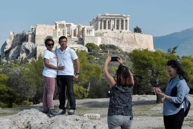 Huelga contra privatización de monumentos en Grecia
