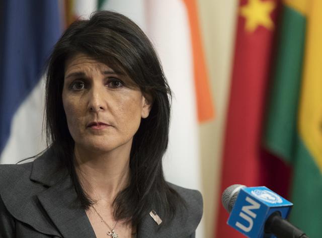 Dimite la embajadora de EU en la ONU