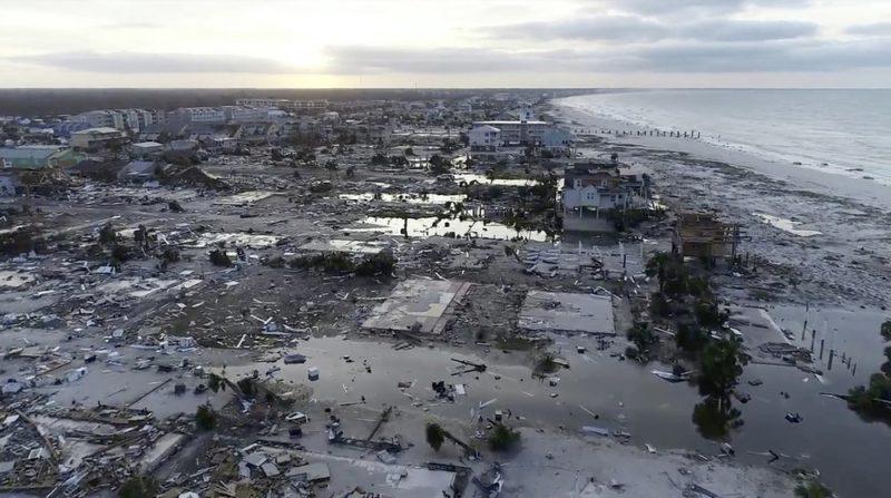 Florida no se da abasto; suman 13 muertos por huracán 'Michael'
