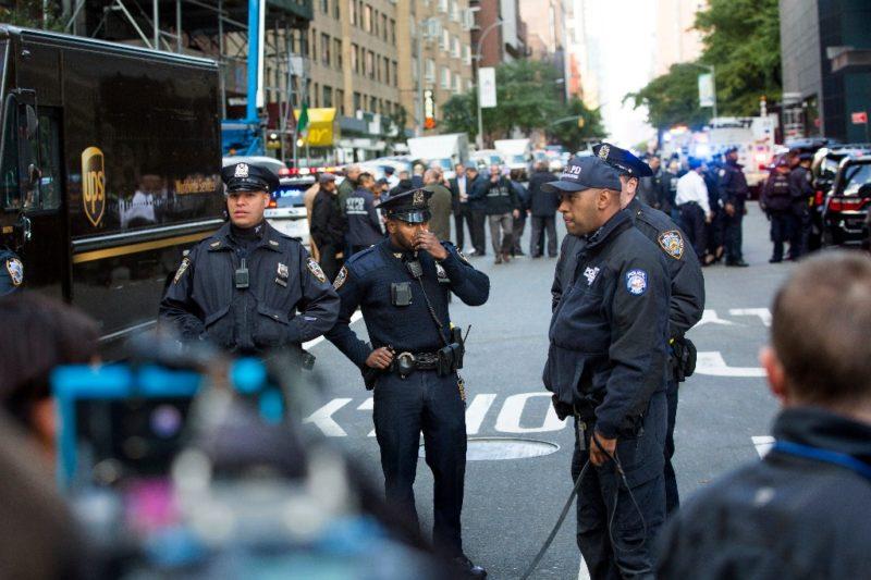 """""""Acto de terrorismo"""", artefacto explosivo en CNN: De Blasio"""