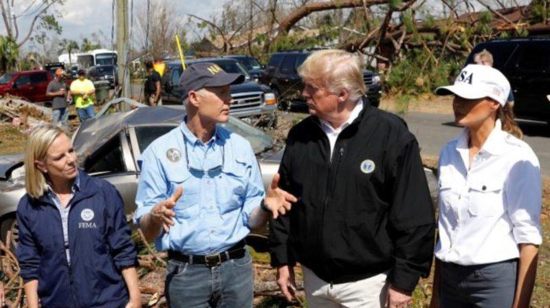 Trump se retracta y admite la existencia del cambio climático